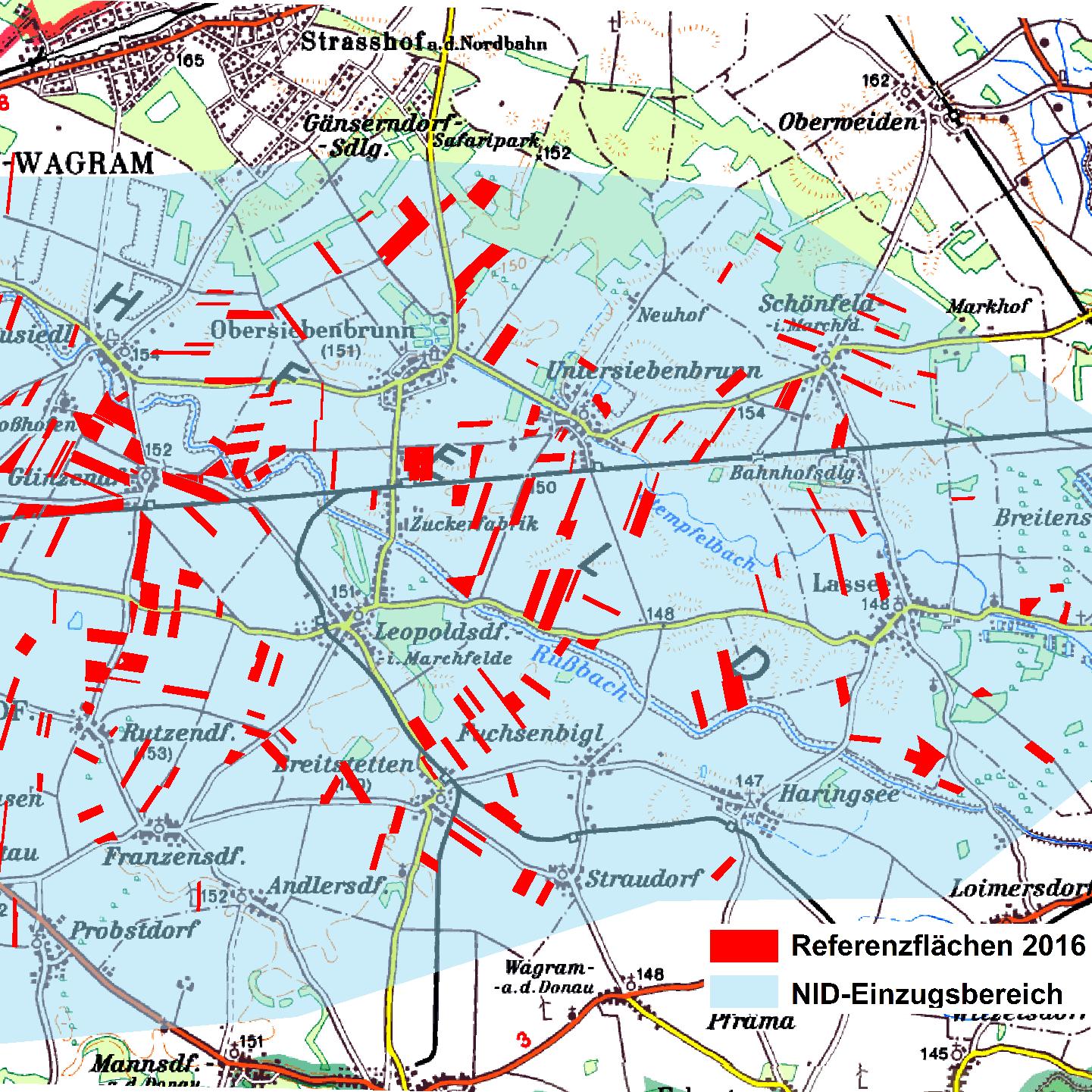 Referenzflächen Marchfeld 2016